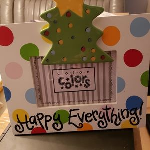 Cotton Colors Happy Everything Frame with Tree